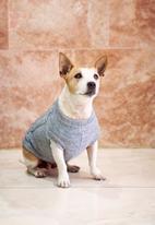 Lucky and Lou - Logan dog jersey - grey