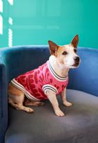 Lucky and Lou - Phoenix dog jersey - pink
