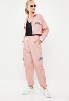 adidas Originals - Adidas side pocket trackpants - pink