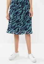 Vero Moda - Nilla skirt - blue