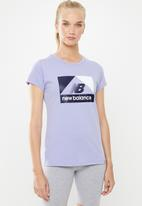 New Balance  - Archive tee - purple