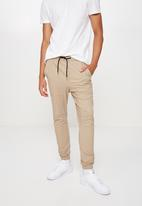 Factorie - Cuffed pant - stone