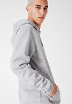 Factorie - Basic hoodie - grey