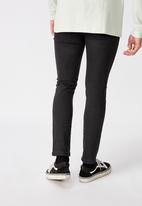 Factorie - Spray on jeans - black
