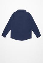 GUESS - Guess core woven shirt - navy