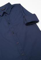 GUESS - Guess core woven shirt - navy
