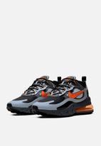 Nike - Air Max 270 react winter - wolf grey/total orange-black