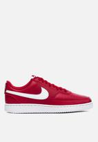 Nike - Court Vision low - gym red / white