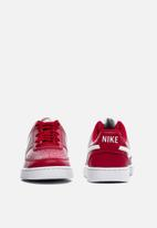Nike - Court Vision low - gym red & white
