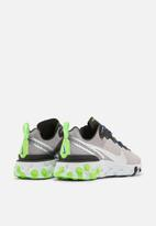 Nike - React Element 55 SE - pumice / metallic silver-total orange