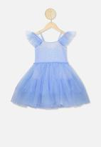 Cotton On - Iris tulle dress -  blue