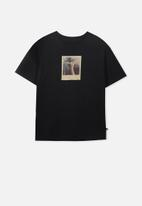 Free by Cotton On - Oversized tee - black