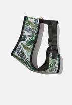Typo - Pet harness - green & white