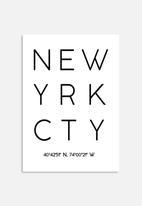 Monica Pop - NY coordinates