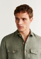 MANGO - Iguazu shirt - khaki