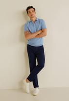 MANGO - Cas polo - blue