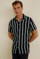 MANGO - Gacel shirt - navy