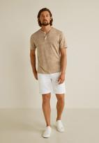 MANGO - Pana tee - neutral