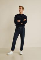 MANGO - Nolan trousers - navy