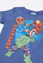 POP CANDY - Boys avengers tee - blue