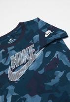 Nike - Nike camo futura - navy