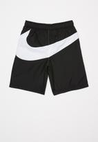 Nike - Nike oversized swoosh woven short - black