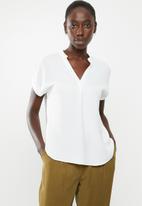 New Look - Matilda herring shirt - white