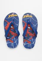 POP CANDY - Spiderman flip flop - blue & red