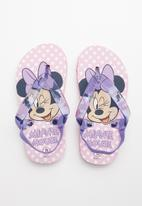 POP CANDY - Minnie mouse flip flop - purple