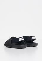 Nike - Nike kawa slide - black& white