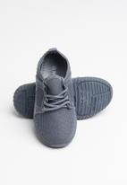 POP CANDY - Knit tie sneaker - grey