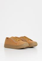 POP CANDY - Lace up sneaker - tan