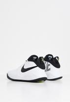 Nike - Team hustle d 9 (gs) - white/black