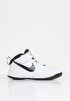 Nike - Team hustle d 9 - white/black