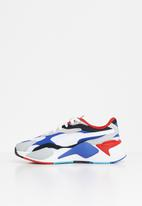 PUMA - Rs-x³ puzzle junior sneakers - white/dazzling blue