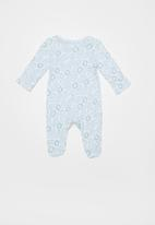 Baby Corner - Baby boys sleepsuit -blue