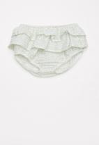 Sticky Fudge - Walk in the park frill diaper cover - multi