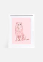 Paul Fuentes - Pink lion