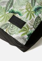 Typo - Large printed pet bed - fern foliage