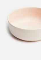 Urchin Art - Cat bowl - pink