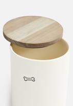 Urchin Art - Pet food storage - bone