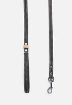 Benji & Moon - Leather lead - black/natural