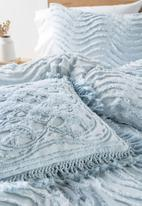 Linen House - Sommers cushion cover - soft blue