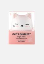 TONYMOLY - Cat's purrfect night mask