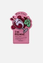 TONYMOLY - I am red wine mask sheet - pore care