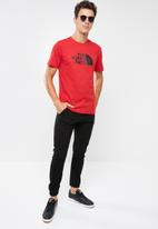 The North Face - Easy short sleeve tee - red