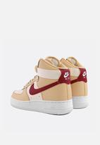 Nike - Air Force 1 High - white onyx / noble red-pale ivory-white