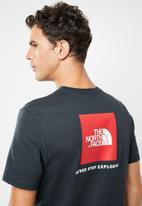 The North Face - Redbox logo short sleeve tee - navy