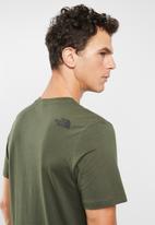 The North Face - Simple dome short sleeve tee - khaki