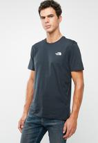 The North Face - Simple dome short sleeve tee - navy